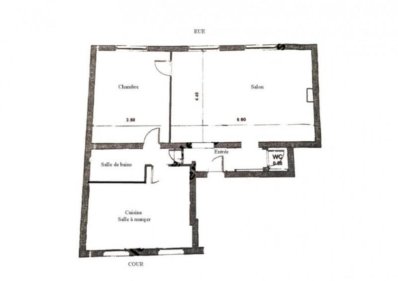 Rental apartment Paris 7ème 2800€ CC - Picture 11