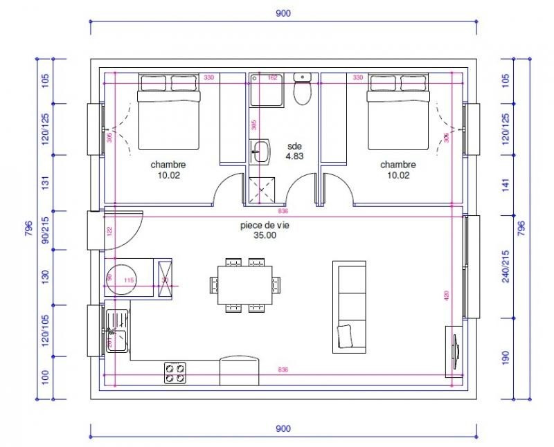 Sale house / villa Pia 129500€ - Picture 2