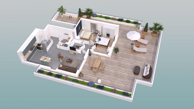 T3 de 74 m² au 4ème et dernier étage