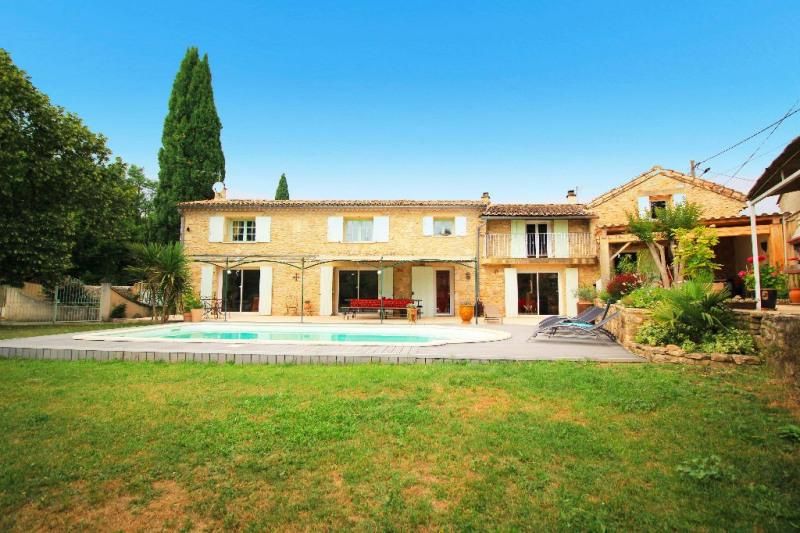 Vente maison / villa Bagnols sur ceze 480000€ - Photo 2