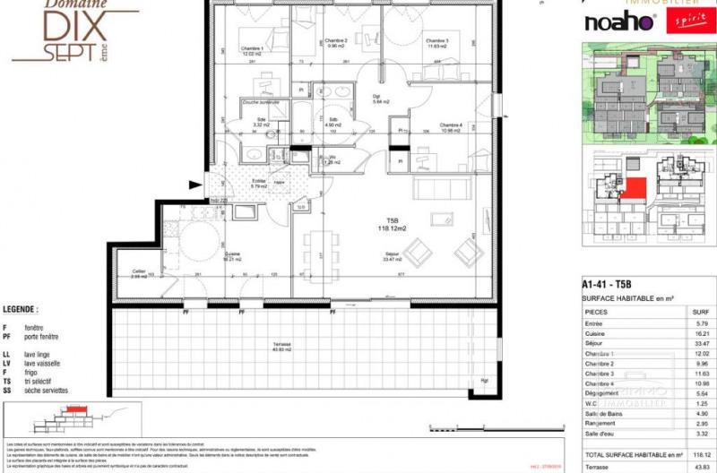 Deluxe sale apartment Saint cyr au mont d'or 820000€ - Picture 2