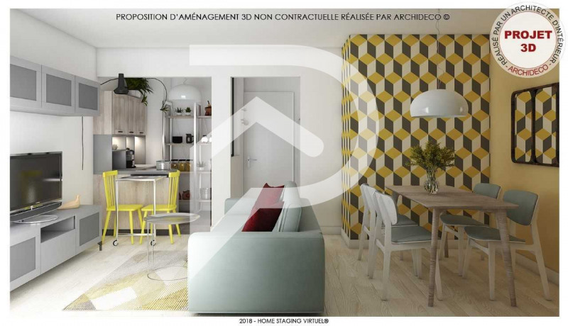 Vente appartement Eaubonne 122 000€ - Photo 3