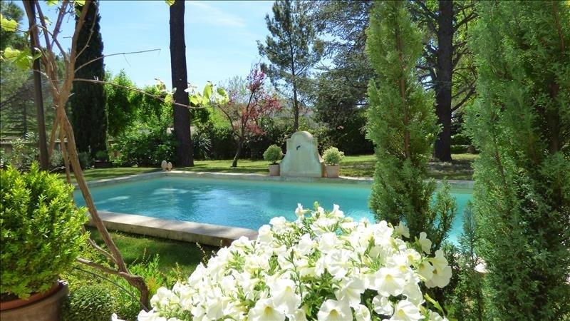 Deluxe sale house / villa Sarrians 695000€ - Picture 2