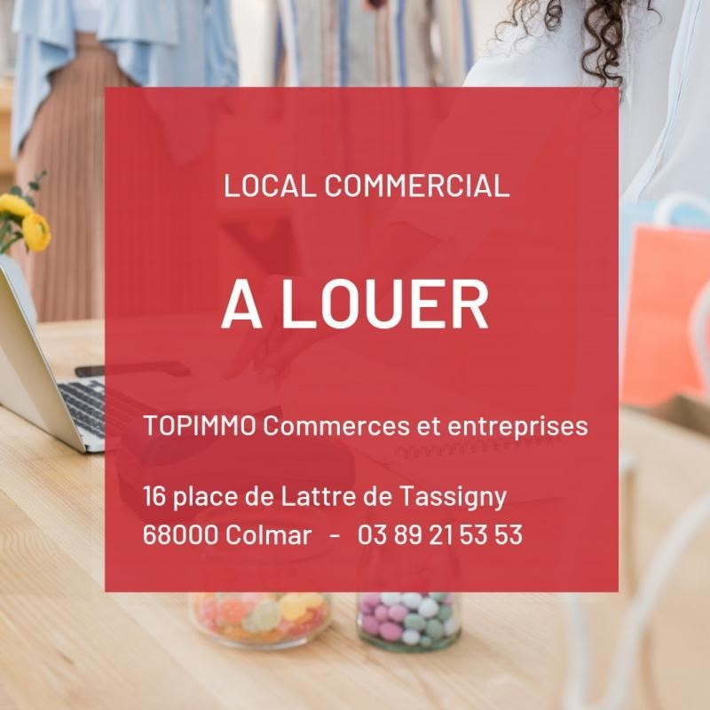 Location local commercial Colmar 1 500€ HT/HC - Photo 1