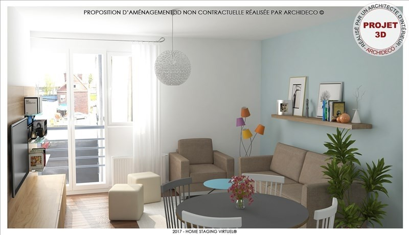 Vente appartement St omer 92 000€ - Photo 4