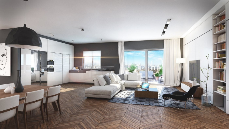 Vente de prestige appartement Issy-les-moulineaux 1145000€ - Photo 3
