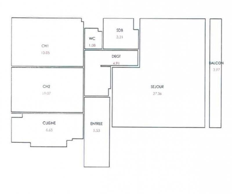 Rental apartment Boulogne-billancourt 2071€ CC - Picture 8
