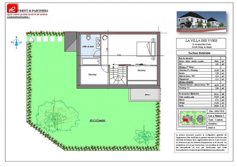 Vente maison / villa Noisy le grand 350000€ - Photo 11