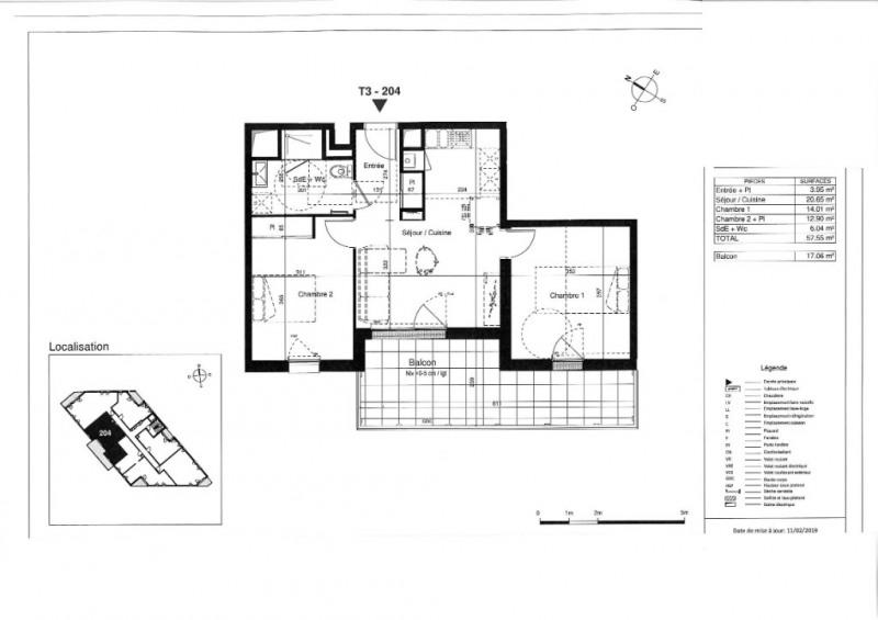 Vente appartement Tours 212000€ - Photo 5