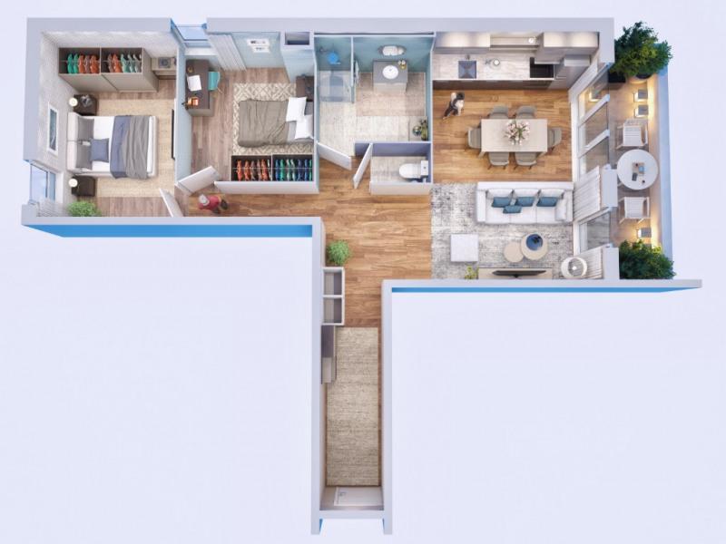 Sale apartment Bourgoin jallieu 182000€ - Picture 1