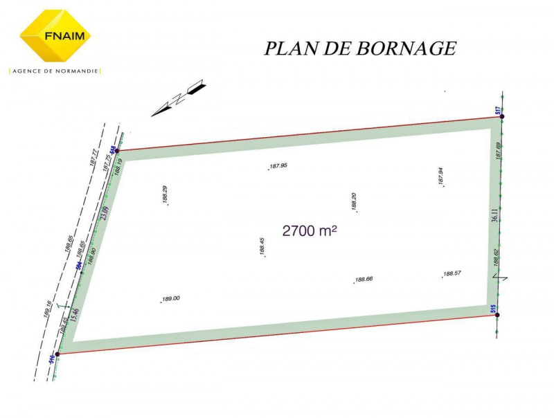 Vente terrain Broglie 21 500€ - Photo 2