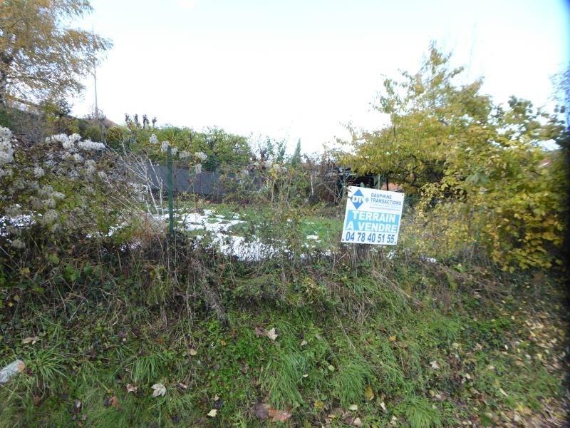 Vente terrain Diemoz 125000€ - Photo 4