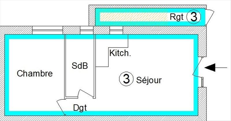 Venta  apartamento St pee sur nivelle 152000€ - Fotografía 3