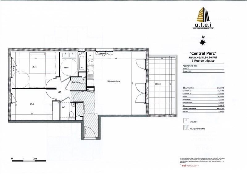 Rental apartment Francheville 830€ CC - Picture 2