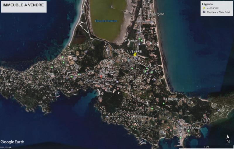 Venta  edificio Hyeres 1612000€ - Fotografía 1