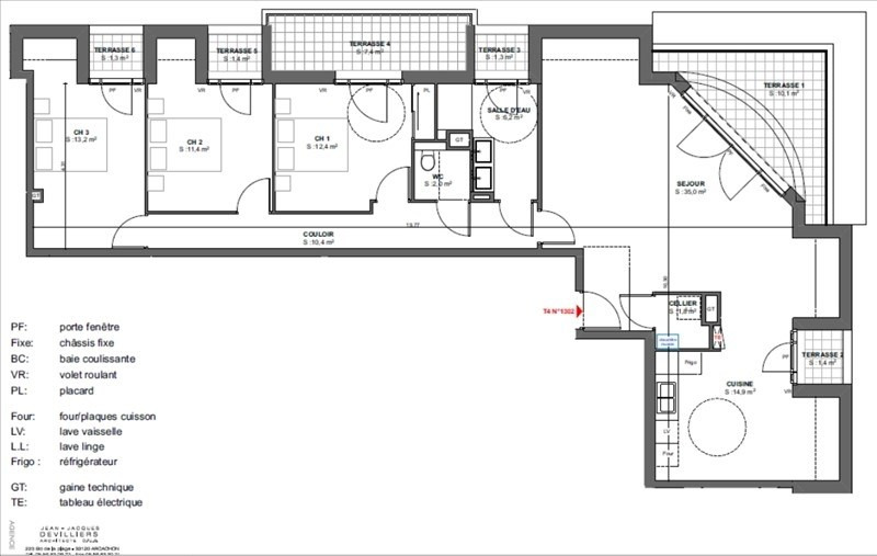 Vente de prestige appartement Arcachon 850000€ - Photo 2