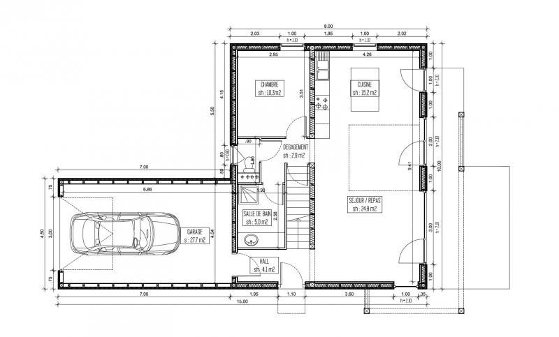 Sale house / villa Walbourg 294000€ - Picture 5