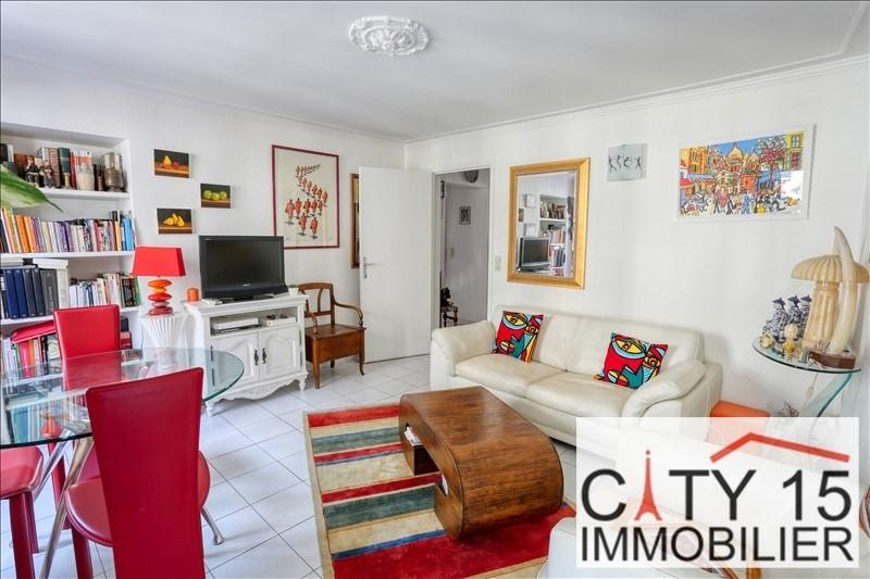 Vendita appartamento Paris 15ème 629000€ - Fotografia 1
