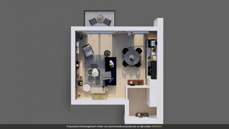 Vente appartement Pont pean 165 600€ - Photo 5