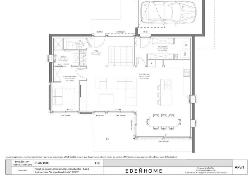 Vente de prestige maison / villa Poisy 924000€ - Photo 8