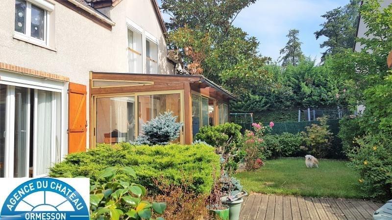 Sale house / villa La queue en brie 402000€ - Picture 1