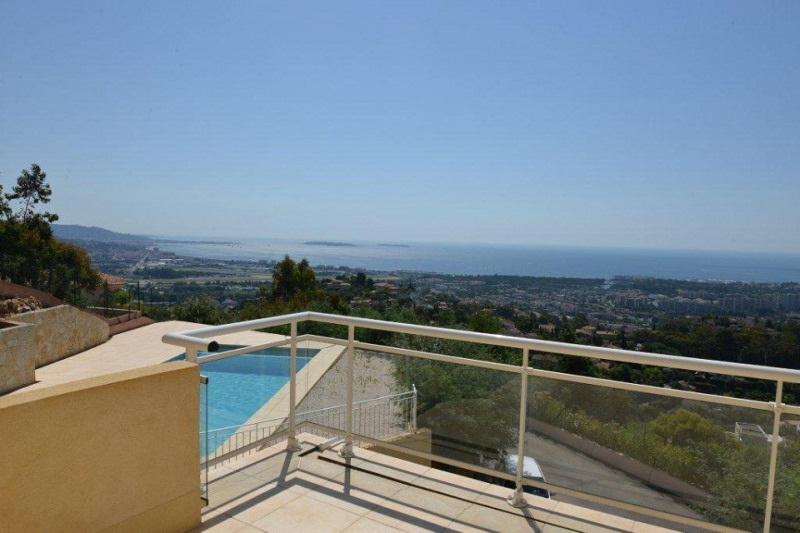 REDUCED FEES! NEW VILLA IN ESTATE FACING THE BAY OF CANNES