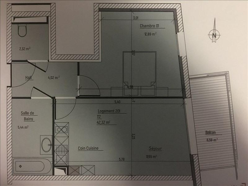 Venta de prestigio  apartamento Charbonnieres les bains 230900€ - Fotografía 3