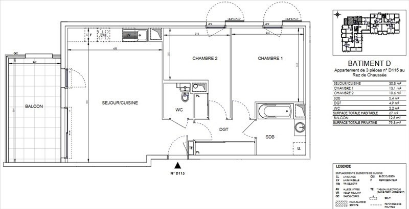 Vente appartement Ollioules 245 000€ - Photo 2