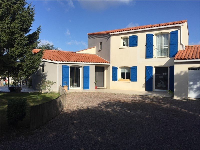 Sale house / villa St vincent sur jard 384 800€ - Picture 1