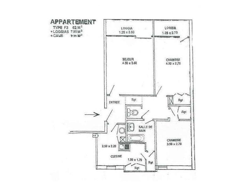 Vente appartement Biscarrosse 127000€ - Photo 4