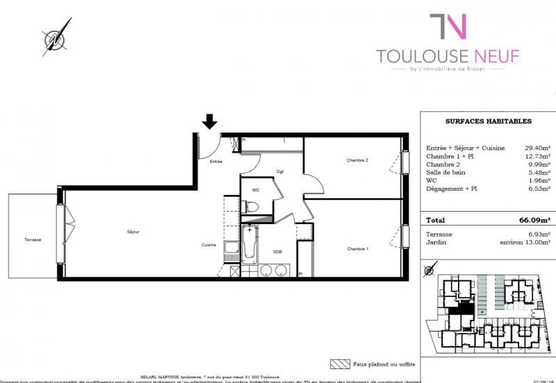 Vente appartement Toulouse 198 000€ - Photo 6