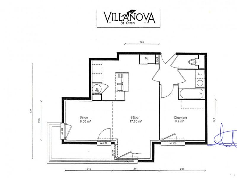 Sale apartment Saint-ouen 270000€ - Picture 6