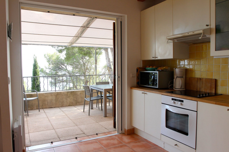 Vacation rental house / villa Cavalaire sur mer 1 500€ - Picture 20