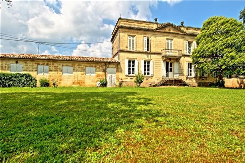 Vente maison / villa St emilion 500000€ - Photo 1
