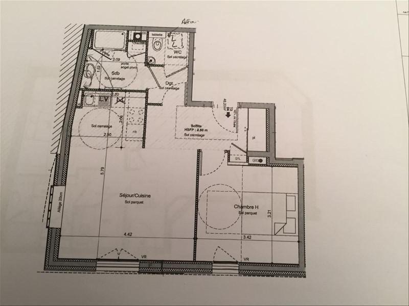 Vente appartement Villeurbanne 229690€ - Photo 2