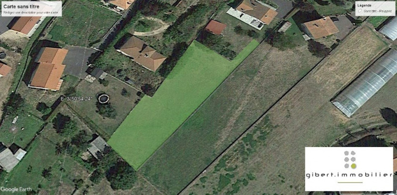 Vente terrain Espaly saint marcel 59500€ - Photo 1