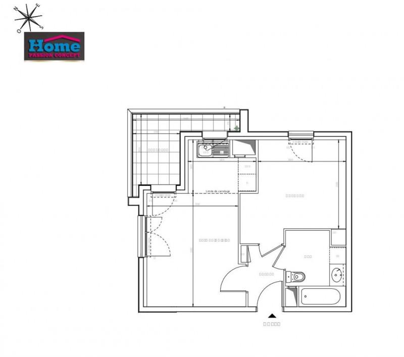 Sale apartment Rueil malmaison 291000€ - Picture 2