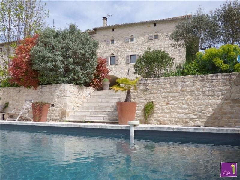 Verkoop van prestige  huis Barjac 469000€ - Foto 1