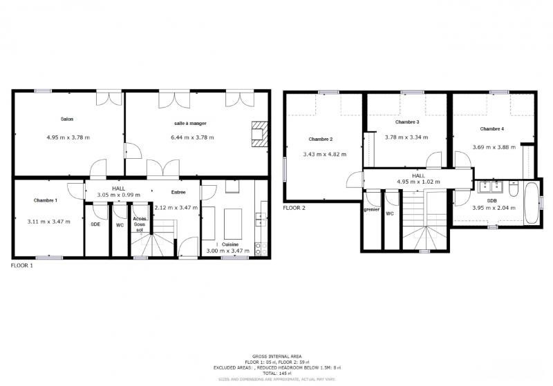 Venta  casa Lanester 216500€ - Fotografía 9