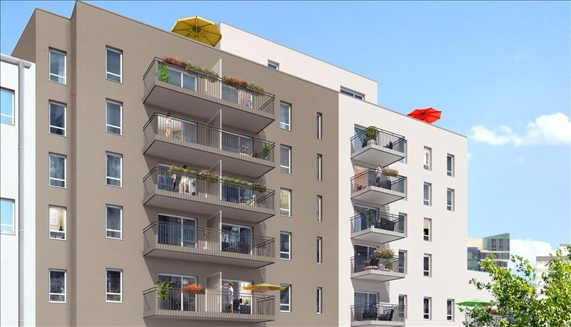 Sale apartment Lyon 7ème 410000€ - Picture 2