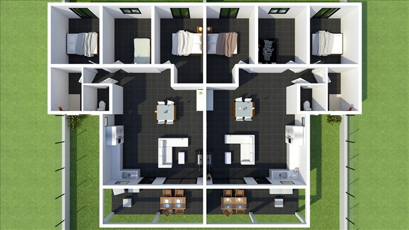 Sale apartment Les avirons 265000€ - Picture 7