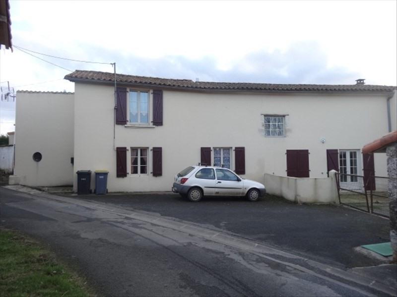 Vente maison / villa Exireuil 132000€ - Photo 5