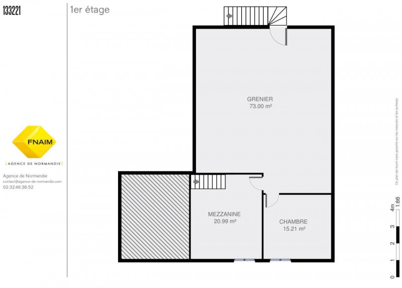 Vente maison / villa Montreuil-l'argillé 101500€ - Photo 7