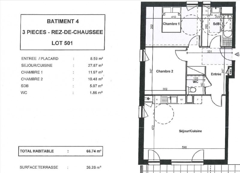 Location appartement Ergersheim 756€ CC - Photo 2
