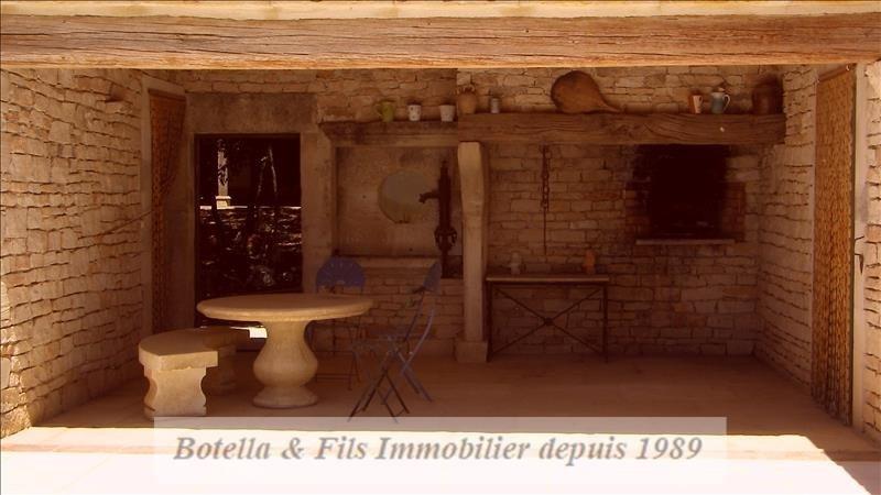 Venta de prestigio  casa Barjac 526315€ - Fotografía 16