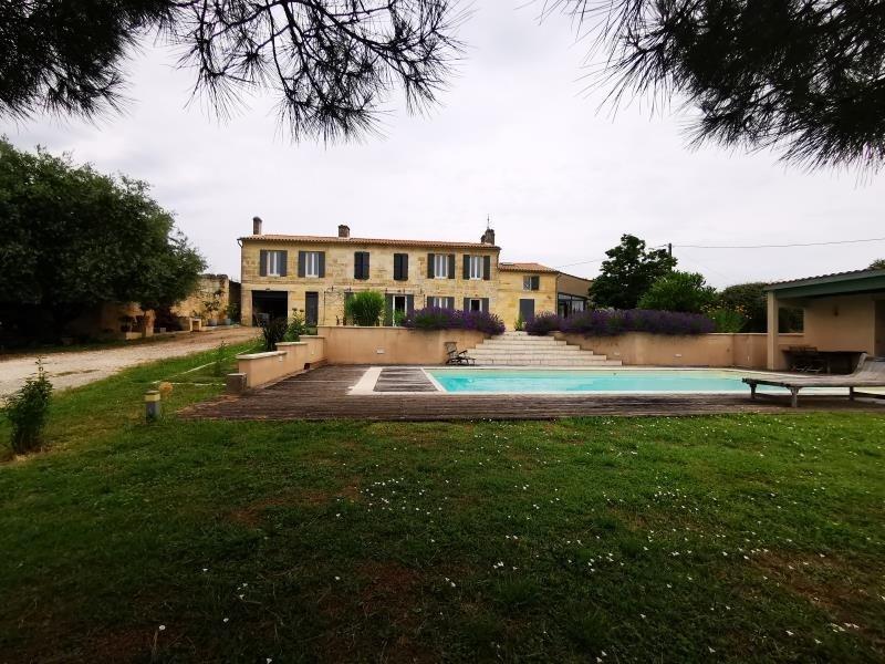 Vente de prestige maison / villa Prignac et marcamps 698250€ - Photo 1