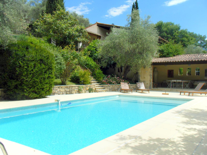 Verkauf von luxusobjekt haus Montauroux 525000€ - Fotografie 1