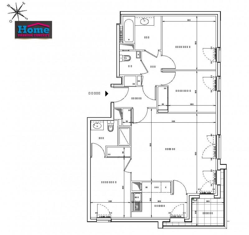Sale apartment Rueil malmaison 603000€ - Picture 2