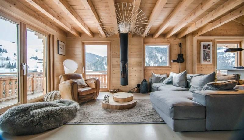 Deluxe sale house / villa La clusaz 1385000€ - Picture 1