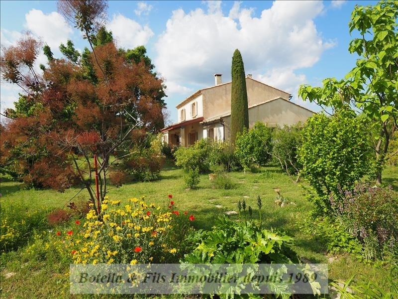 Deluxe sale house / villa Uzes 750000€ - Picture 1